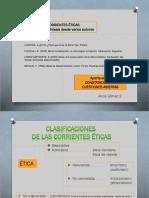 Corrientes Éticas- Vision de Síntesis Desde Varios Autores