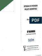 Glauco - Estradas de Rodagem - Projeto Geométrico