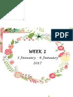 week rph