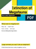 megafauna extinction