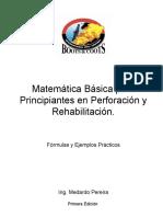 Matematica Basica de Taladro