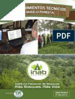Procedimientos Técnicos de Manejo Forestal