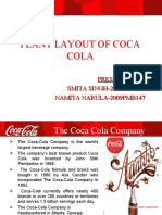 Coca Cola Plant Layout