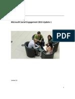 Microsoft Social Engagement User Guide