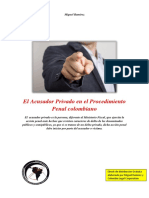Acusadorprivado eBook Juridico PDF Colombia Legal Corporation