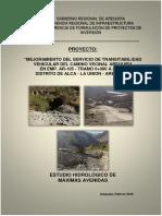 Informe Hidrologia Alca