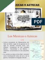 Unidad 2 Mexicas - Carolina López Murillo