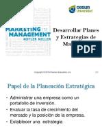 Planes y Estrategias de Mercadotecnia_U2