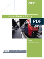 Namma_Metro - A Study