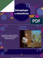 Antropologia y Colonialismo