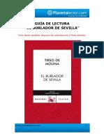 Tirso de Molina-El Burlador de Sevilla-Guía de Lectura-Planeta