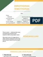 hidrohemothorak