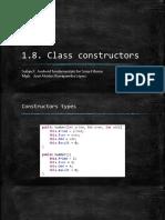 1.8. Class Constructor