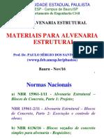 Alv. Estrutural - Mater-Pre Mold