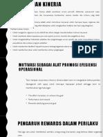 Presentasi Akuntansi Keperilakuan Bab Evaluasi Kinerja