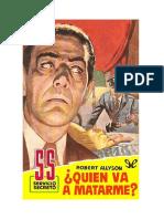 Allyson Robert - Servicio Secreto 434 - Quien Va A Matarme.doc
