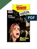 Hare Burton - Seleccion Terror Extra 15 - Gritos Y Alaridos