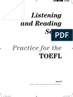 Listening and Reading Practice Supplement
