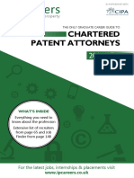 The Inside Careers Guide to Patent Attorneys 201617