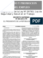 2012-04-25 - DS 005-2012-TR - REGLAMENTO LEY 29783.pdf