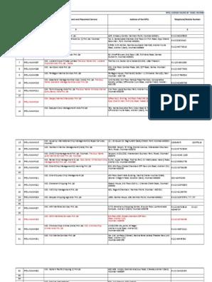 RPSL Data Updated(5) | Mumbai | Nature