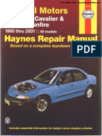 Repair Manual Chevrolet Cavalier (1995-2001) Fixed