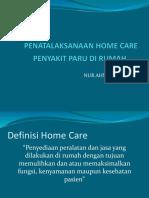 Home Care Penyakit Paru