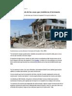 Ecuador - El Secreto de Las Casas Que Resistieron El Terremoto