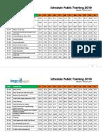 19-32 Schedule Public Training 2018 RUMAH SAKIT
