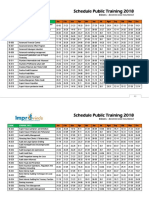 49-66 Schedule Public Training 2018 Banking and Insurance