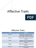 Affective Traits
