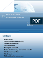 Rallis India Limited_restructuring and Turnaround Strategy