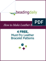 How to Make Leather Bracelets Projects