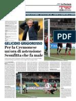 La Provincia Di Cremona 04-03-2018 - Gelicidio Grigiorosso
