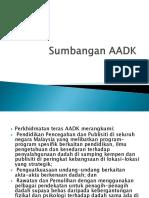 Sumbangan AADK