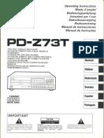 Hfe Pioneer Pd-z73t Multi Lang