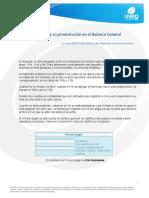 Calculo Del IVA y Su Presentacion en El Balance General