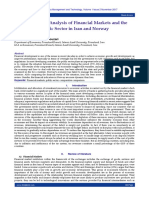 Comparative Analysis of Financial Markets and the Public Sector in Iran and Norway