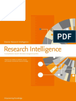 Elsevier Research Intelligence Brochure