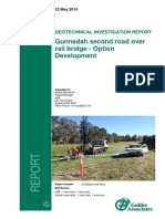 Gunnedah Ref App g Geotechnical Investigation Report