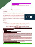 Reglamento de Comprobantes de Venta, Retención y Documentos Complementarios (R.O. 247, 30 de Julio de 2010.) 01-06-2014