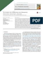 The StrategicroleofEngineeringAssetManagement