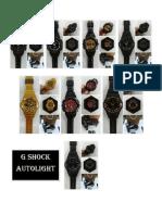 g Shock Autolight