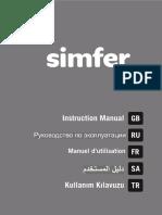 S.2800.ESL.bf Slimline Isıtıcı User Manual