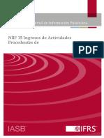Material de Apoyo - NIIF 15 Ingresos Provenientes de Clientes