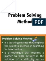 Problem Solving Method 114 REPORT