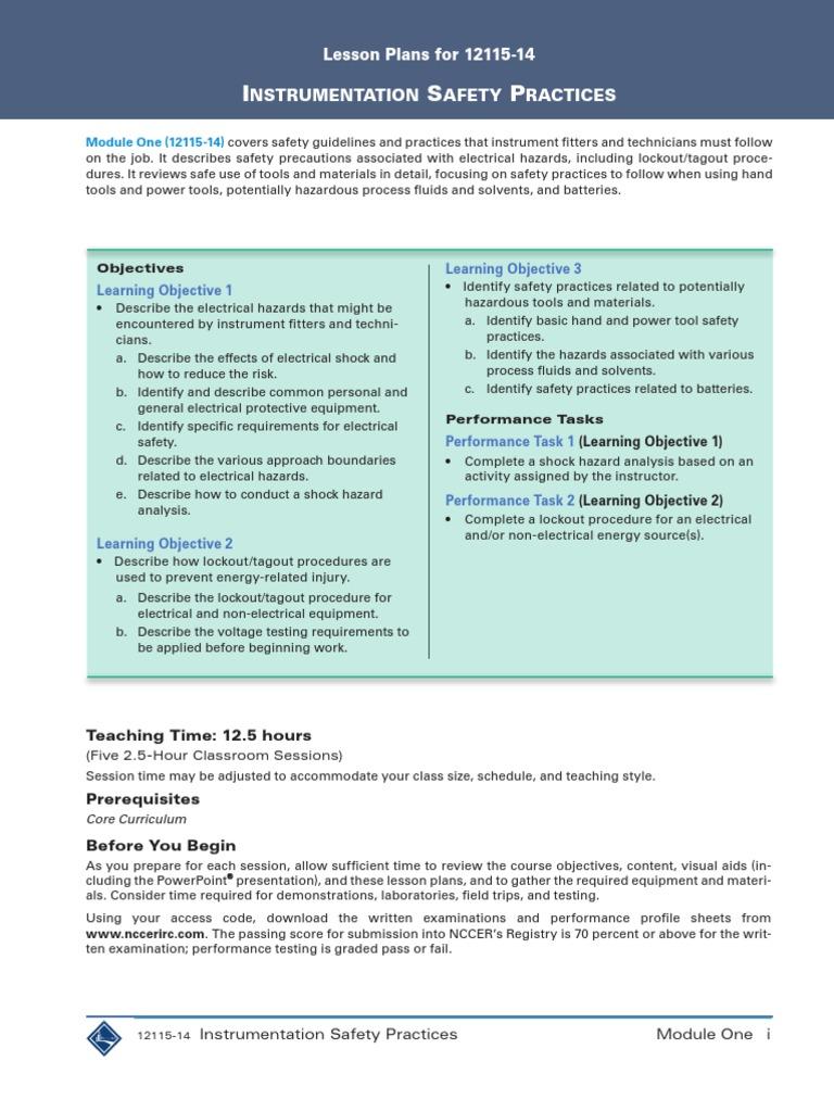 instrumentation_l1_3e_courseplanning.pdf | Drill | Test (Assessment)