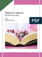 Odabrani Tekstovi Dragana Pavlicek