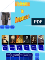 Humanities Review Jeopardy Knowledge