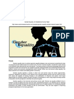 Cerdeña_Gender Equality an Established Human Right